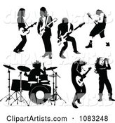 Black and White Rock and Roll Musicians
