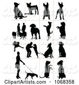 Clipart Dog Silhouettes 2