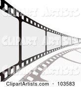 Film Strip Leading to the Right