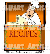Food Recipe Box