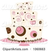 Funky Three Tiered Cake - 4