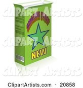 Green Product Box with a Star and Amazing Stuff Text on the Front