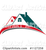 Houses with Roof Tops 4