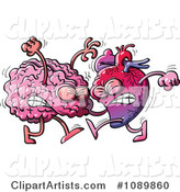 Human Heart Fighting with a Brain