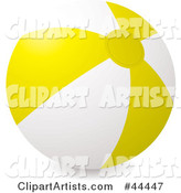 Inflatable Yellow Beach Ball