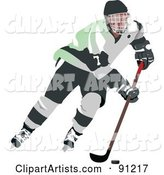 Male Ice Hockey Player - 3