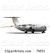 Medium Sized Commercial Aircraft
