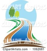 Nature and River Logo 4