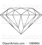 Outlined Diamond