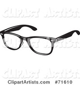 Pair of Black Spectacles