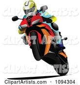 Person Riding a Motorcycle 8