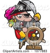 Pirate Captian Steering