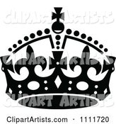Royal Crown in Black and White