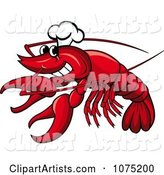 Seafood Lobster Chef Logo