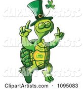 St Patricks Day Tortoise Dancing