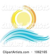 Summer Sun and Ocean Wave 6