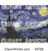 The Starry Night, Original by Vincent Van Gogh