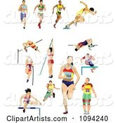 Track and Field Athletes