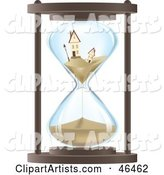 Two Sinking Homes in an Hourglass