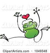 Valentine Frog in Love - 4