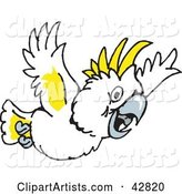 Vector Cockatoo Clipart by Dennis Holmes Designs