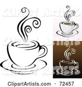Vector Coffee Clipart by Cidepix