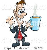 Vector Coffee Clipart by Dennis Holmes Designs