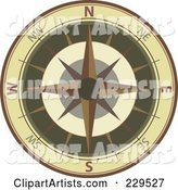 Vector Compass Clipart by Qiun