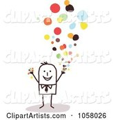Vector Confetti Clipart by NL Shop