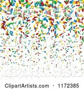 Vector Confetti Clipart by Vectorace