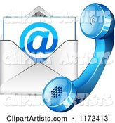 Vector Contact Clipart by Vectorace