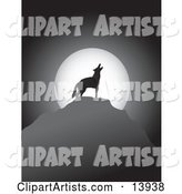 Vector Coyote Clipart by Rasmussen Images