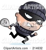 Vector Criminal Clipart by Cory Thoman