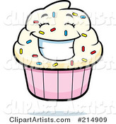 Vector Cupcake Clipart by Cory Thoman