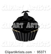 Vector Cupcake Clipart by Randomway
