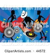 Vector Dancing Clipart by Toonster