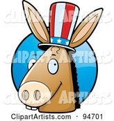 Vector Democratic Clipart by Cory Thoman