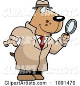 Vector Detective Clipart by Cory Thoman