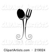 Vector Dining Clipart by BNP Design Studio