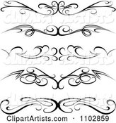 Vector Dividers Clipart by Dero
