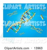 Vector Dna Clipart by Rasmussen Images