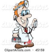 Vector Doctor Clipart by Dennis Holmes Designs