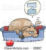 Vector Dog Clipart by Gnurf