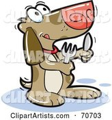 Vector Dog Clipart by Jtoons