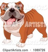 Vector Dog Clipart by Pushkin
