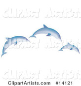 Vector Dolphin Clipart by Rasmussen Images