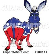 Vector Donkey Clipart by Dennis Holmes Designs