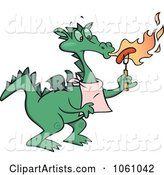 Vector Dragon Clipart by Gnurf