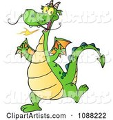 Vector Dragon Clipart by Hit Toon