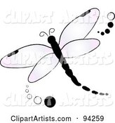 Vector Dragonfly Clipart by Rogue Design and Image